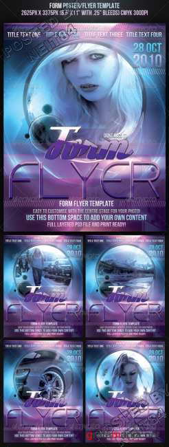 Graphicriver Form Poster Flyer Template 131858
