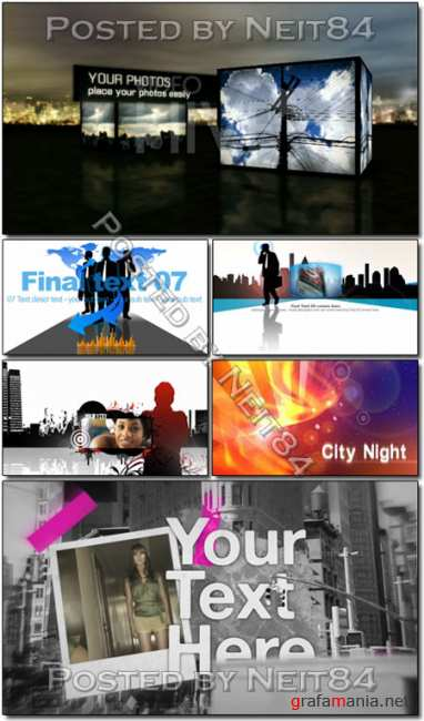 5 template Corporate Energy City Project After Effects