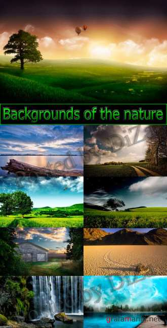 Backgrounds of the nature