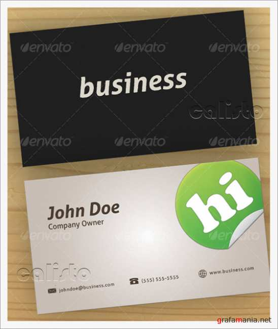 Latte Business Card - GraphicRiver
