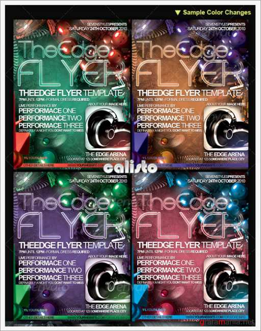 TheEdge Flyer/Poster Template - GraphicRiver