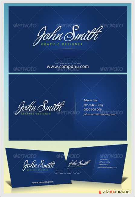JS Business Cards - GraphicRiver