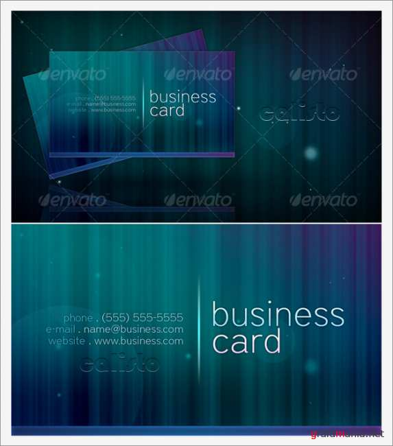"Business Card ""1"" - GraphicRiver"