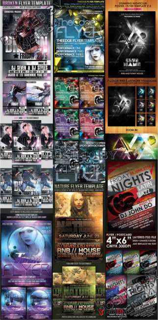 Graphicriver BUNDLE Flyers Templates V11