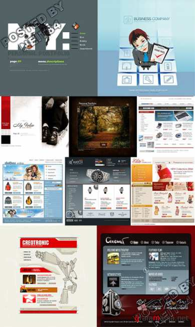 10 Flash Template Website K10 P2