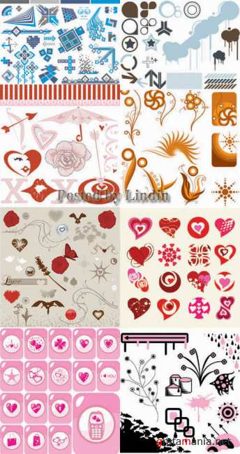 Vector Graphics Collection set 1