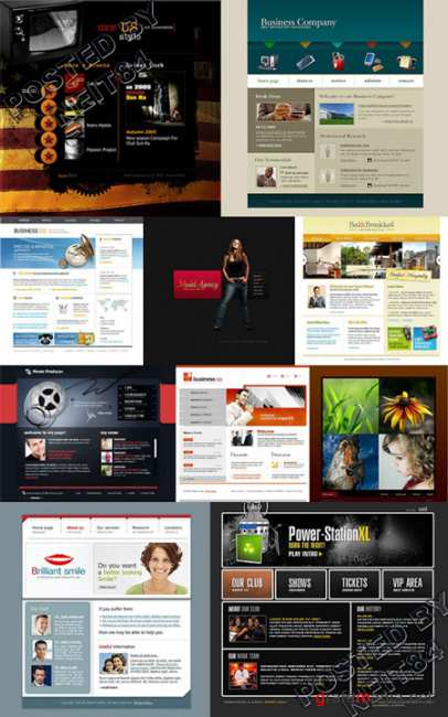 10 Flash Template Website K10 P6
