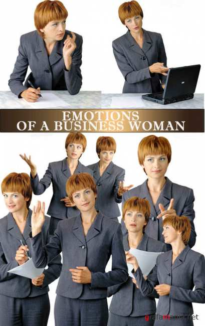 Stock Photos - Emotions Women
