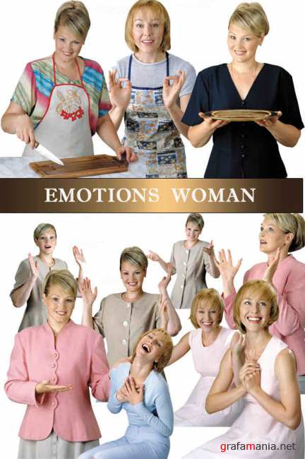 Stock Photos - Emotions Women 2