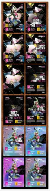 Ministry of Sound Party Poster - GraphicRiver