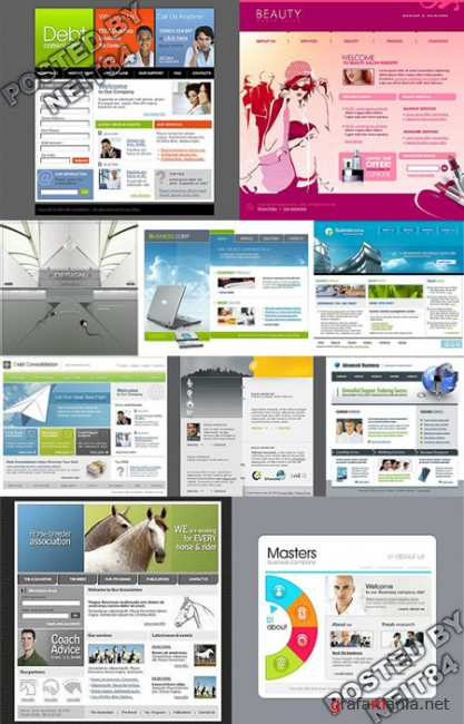 10 Flash Template Website K10 P11