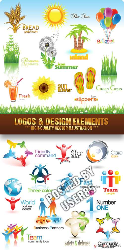Stock Vector - Logos & Design Elements