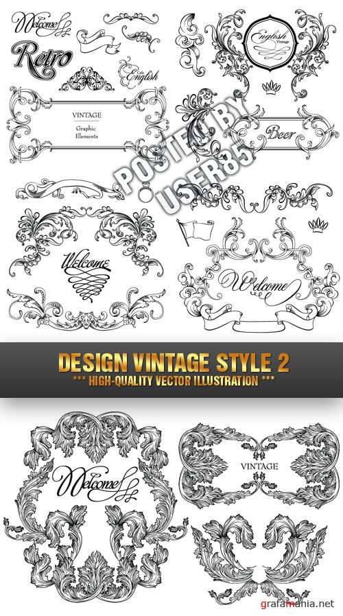 Stock Vector - Design Vintage Style 2