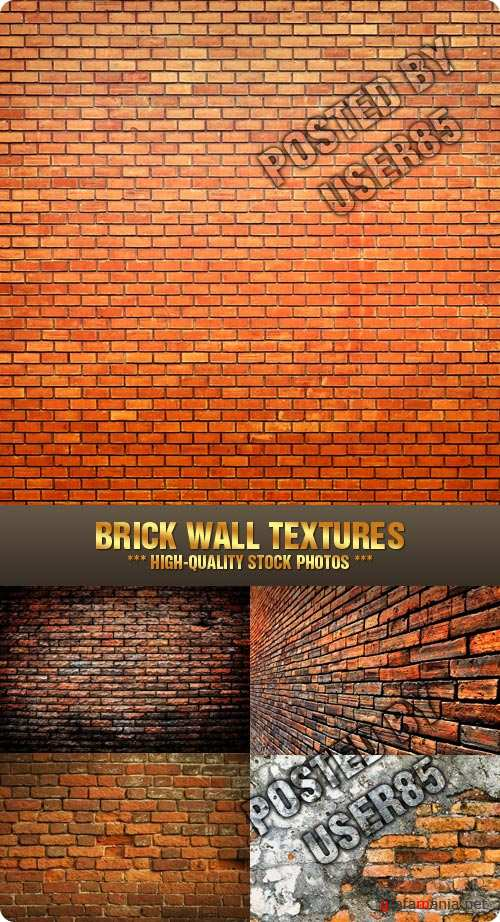 Stock Photo - Brick Wall Textures