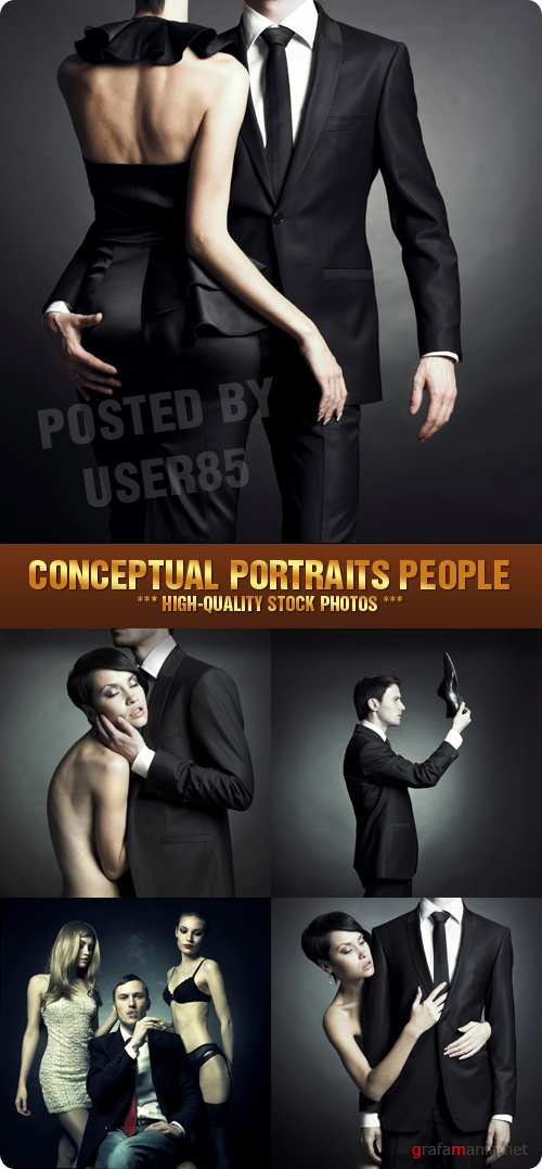 Stock Photo - Conceptual Portraits People