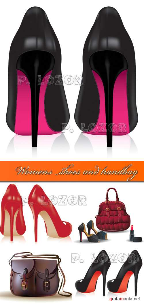 Womens shoes and handbag