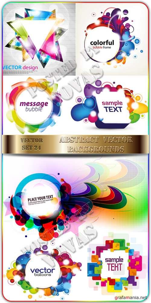 Abstract Vector Backgrounds 24