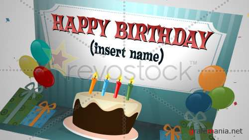 After Effects Project - Birthday Photo Intro 109922