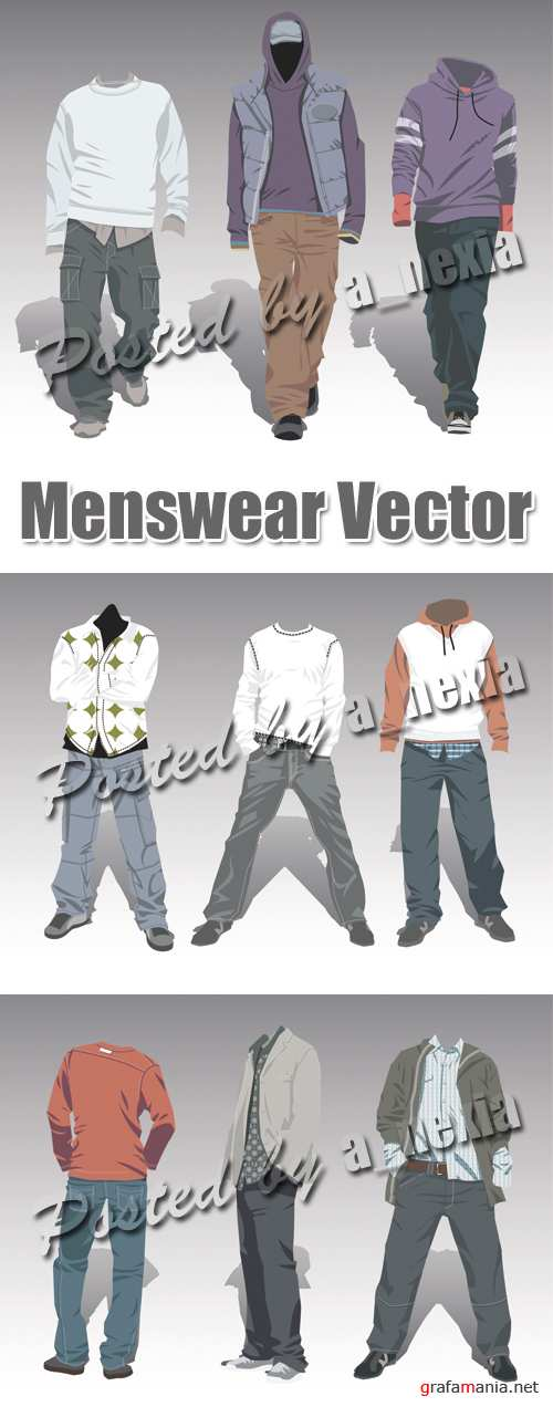 Menswear Vector