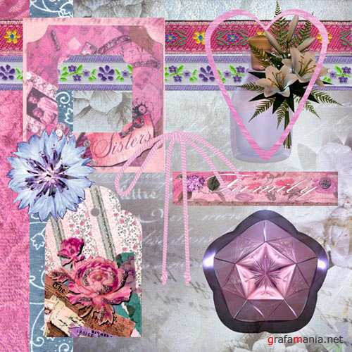Floral Scrapbooking Kit