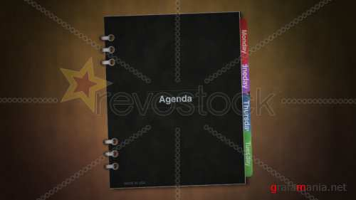 RevoStock Book Photo Album Template 88788