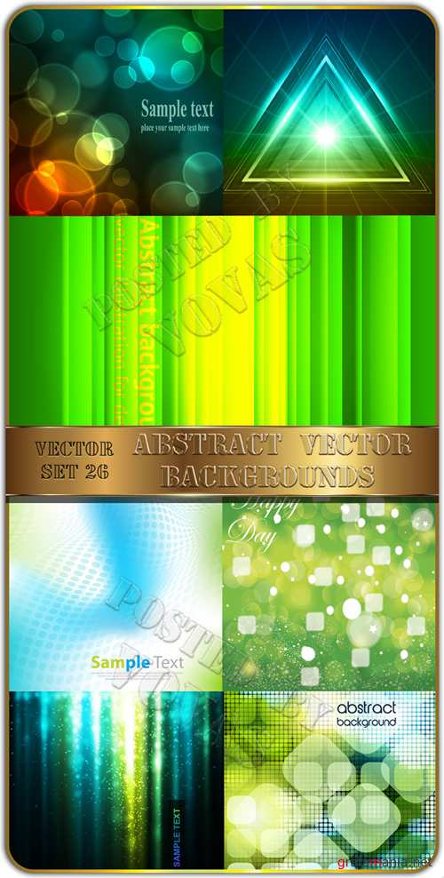 Abstract Vector Backgrounds 26