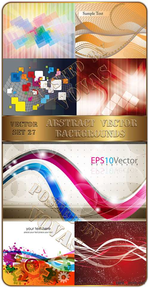 Abstract Vector Backgrounds 27