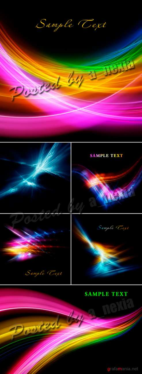 Stock Photo - Glowing Backgrounds 2