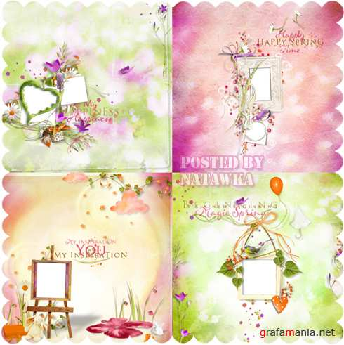 Beautiful scrap frames