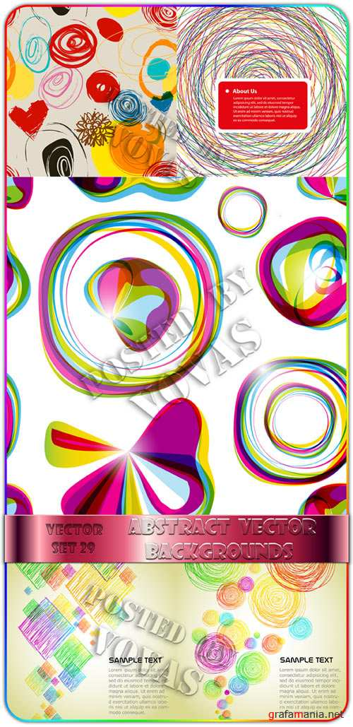 Abstract Vector Backgrounds 29