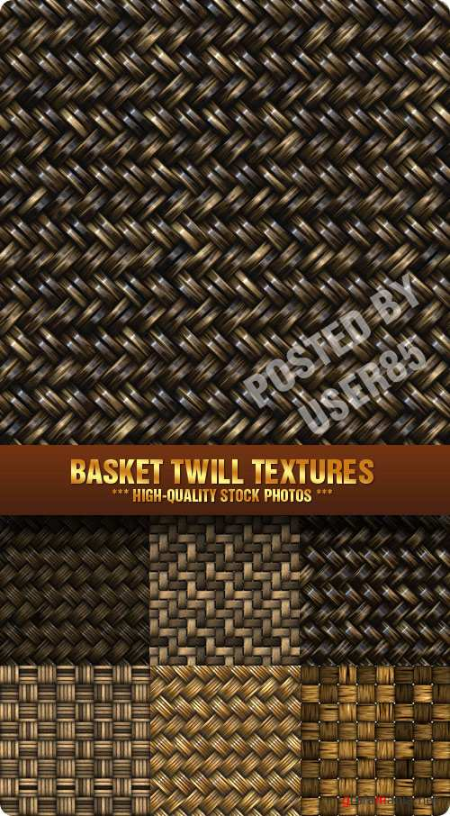 Stock Photo - Basket Twill Textures