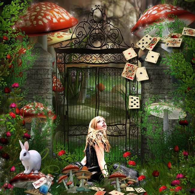 Scrap kit  Welcome To Wonderland