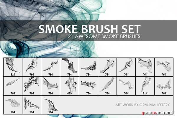 Кисти Дым / Smoke Brushes