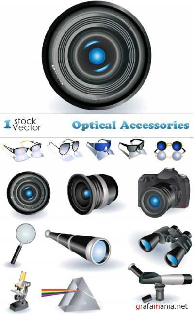 Optical Accessories Vector