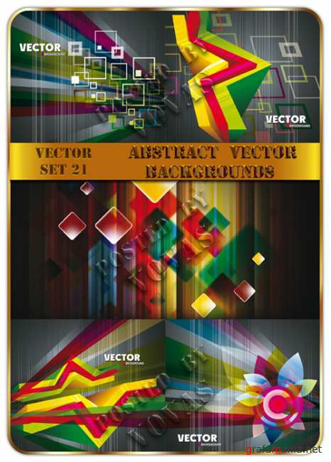 Abstract Vector Backgrounds 21