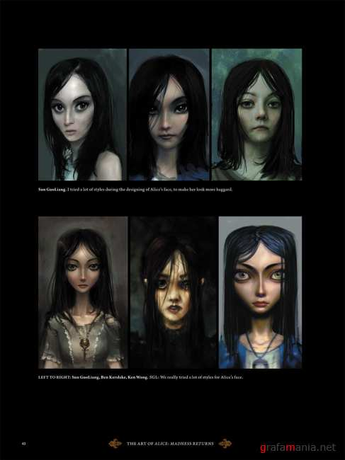 The Art of Alice Madness Returns (official artwork)