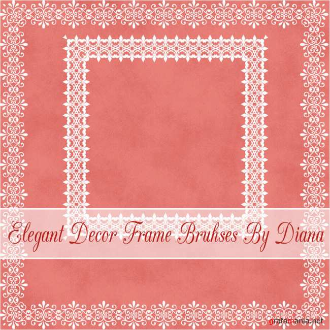 Elegant Decor Frame Brushes