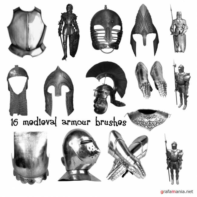 Medieval Armour PS Brushes