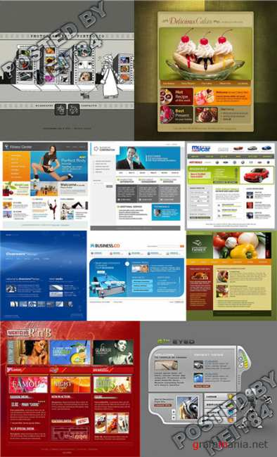 10 Flash Template Website K10 P14
