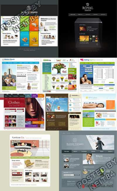 10 Flash Template Website K10 P13