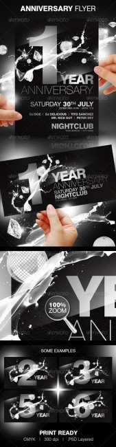 Anniversary Party Flyer - GraphicRiver