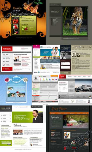 10 Flash Template Website K10 P16