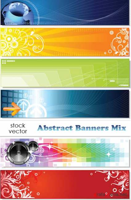 ��������� ������� - Abstract Banners Mix