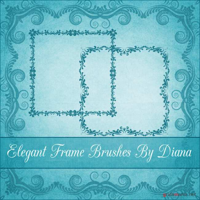 Elegant Decor Frame Brushes 5