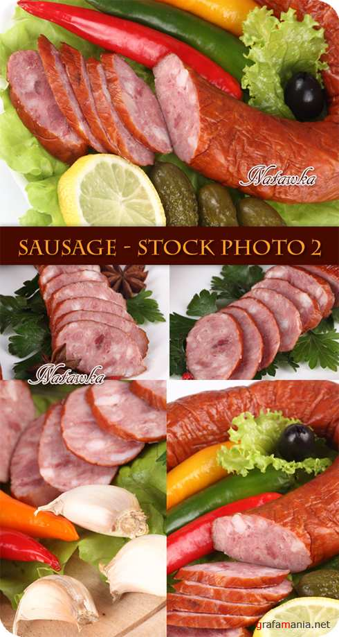 Sausage - Stock Photo 2