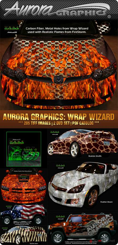 Aurora Graphics - Wrap Wizard