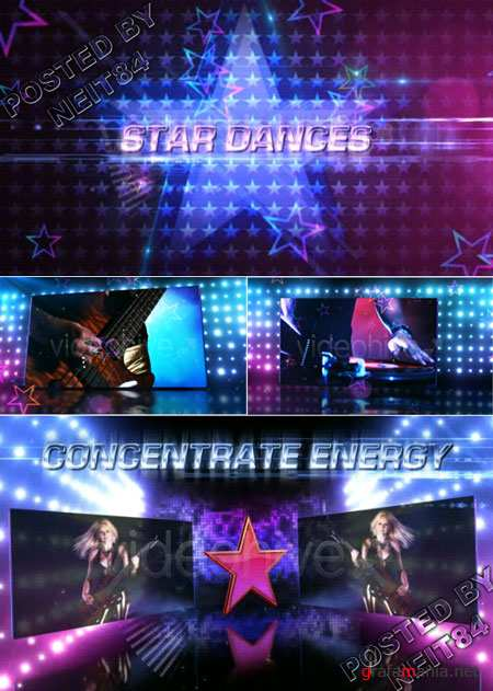 After Effect project Star Dances Promo 149478