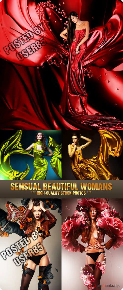 Stock Photo - Sensual Beautiful Womans