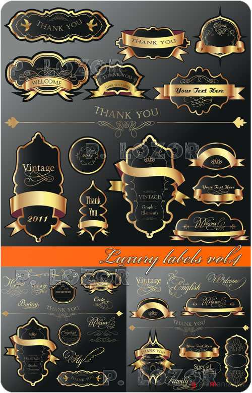 Luxury labels vol.4