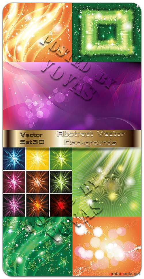 Abstract Vector Backgrounds 30